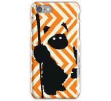 Ewok Chevron Orange iPhone Case/Skin