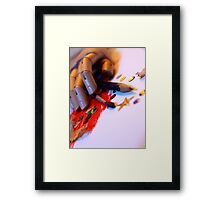 Art Will Be The Death Of Me - original photo Framed Print