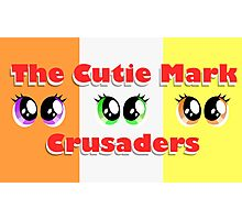 The Cutie Mark Crusaders Photographic Print