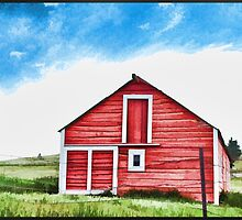 Colorado Barn by tvlgoddess