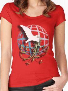 Bird & Vines Women's Fitted Scoop T-Shirt
