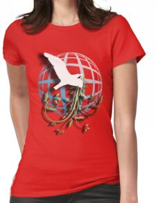 Bird & Vines Womens Fitted T-Shirt