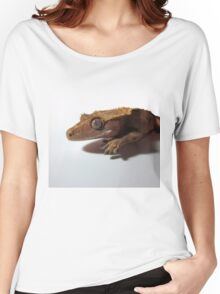Crested Gecko Red Step Women's Relaxed Fit T-Shirt