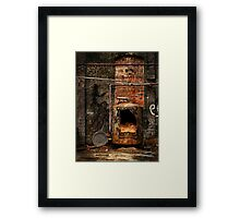 belly of the beast Framed Print