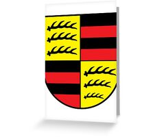 Hohenzollern coat of arms Greeting Card