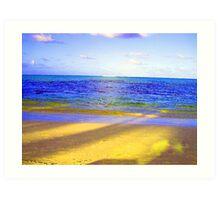 Punta Cana sunset Art Print