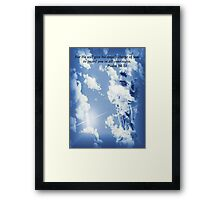 An Angel To Guard You Framed Print