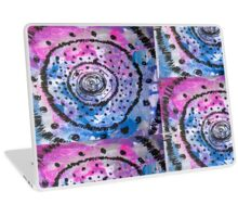Neon Burst Laptop Skin