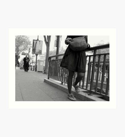 Paris - Smoking Time. Art Print