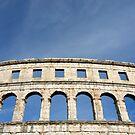 Roman Amphitheater in Pula (Croatia)  by Petr Svarc