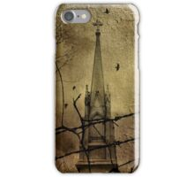 Behind The Barbed-Wire iPhone Case/Skin