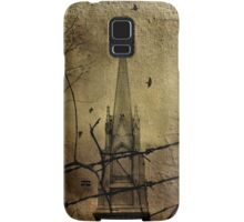 Behind The Barbed-Wire Samsung Galaxy Case/Skin