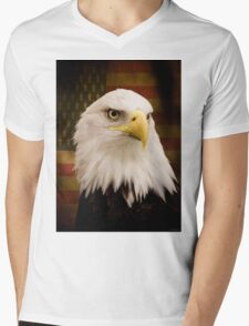 May Your Heart Soar Like An Eagle Mens V-Neck T-Shirt