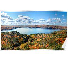 Autumn paradise ! Ontario, Canada Poster