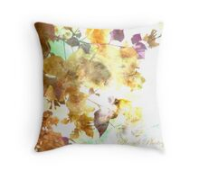 The autumn of your eyes  Throw Pillow