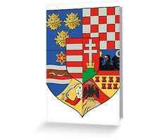 Hungarian coat of arms Greeting Card