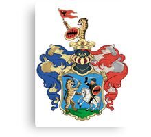 Hungarian coat of arms Canvas Print