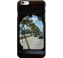 Riding the Sun Trolley iPhone Case/Skin
