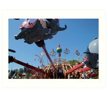 When I see an elephant fly! Art Print