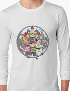Earthbound w/ Background Long Sleeve T-Shirt
