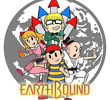 Earthbound w/ Logo by RyanDenora