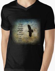 Flying In A New Direction Mens V-Neck T-Shirt