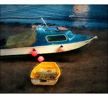 Airbags For Boats Photographic Print