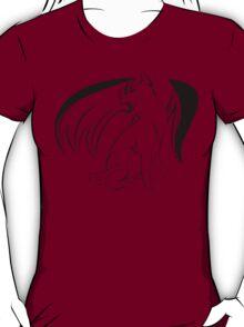 Cats are like tiny fuzzy dragons. T-Shirt