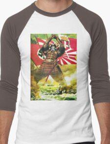 Japanese Propaganda Poster : WW2 World War 2 : WWII  Men's Baseball ¾ T-Shirt