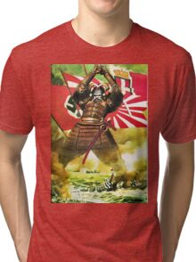 Japanese Propaganda Poster : WW2 World War 2 : WWII  Tri-blend T-Shirt