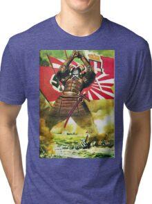 Japanese Propaganda Poster : WW2 World War 2 : WWII  Tri-blend T-Shirt