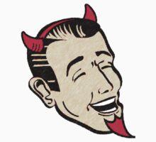 Grinning Red Devil by Blahzeedee