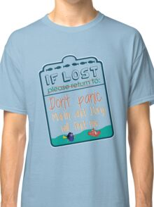 If lost please return to... Classic T-Shirt
