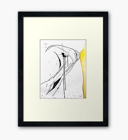 Ink Splats (Origins) Framed Print