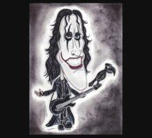 Dark Goth Legend Movie Caricature by MMPhotographyUK