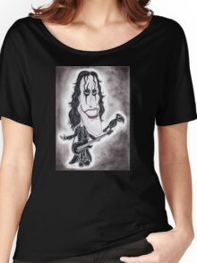 Dark Goth Legend Movie Caricature Women's Relaxed Fit T-Shirt