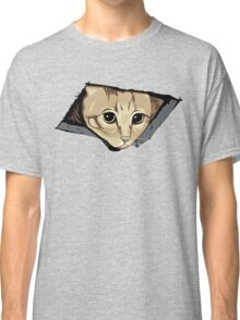 Ceiling Cat Watches You, LOLCat Favorite Classic T-Shirt