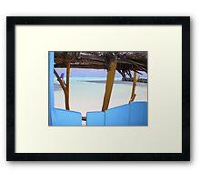 Sorobon-Bonaire Framed Print