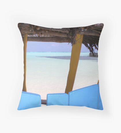 Sorobon-Bonaire Throw Pillow