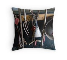 Farming tools Throw Pillow