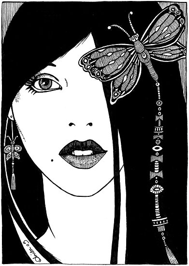 Butterfly Girl by Anita Inverarity