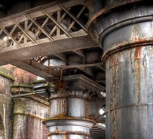 Below the Railway Arches, Manchester by Robin Whalley