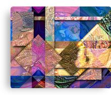 Peace is a Puzzle Canvas Print