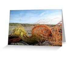 Washed ashore Greeting Card