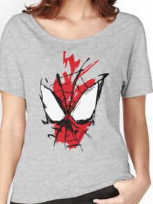 Spiderman Splatter Women's Relaxed Fit T-Shirt
