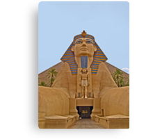 The Sphinx and Little Pharaoh Canvas Print