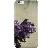 Bird In A Tree iPhone Case/Skin