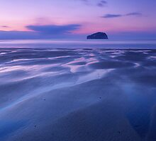 Bassrock at Dusk by Christopher Thomson
