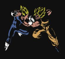 Goku versus Vegeta by Insider
