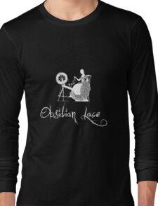 Latinive Logo in white Long Sleeve T-Shirt